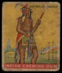 1933 Goudey Indian Gum #35  Ah-No-Je-Nahge   Front Thumbnail