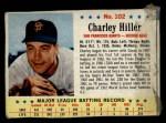 1963 Post #102  Chuck Hiller  Front Thumbnail