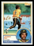 1983 Topps #149  Johnny Ray  Front Thumbnail