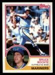 1983 Topps #28  Bruce Bochte  Front Thumbnail
