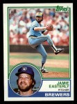 1983 Topps #528  Jamie Easterly  Front Thumbnail