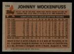 1983 Topps #536  John Wockenfuss  Back Thumbnail