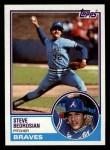 1983 Topps #157  Steve Bedrosian  Front Thumbnail
