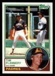 1983 Topps #38  Tim Flannery  Front Thumbnail