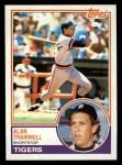 1983 Topps #95  Alan Trammell  Front Thumbnail