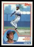 1983 Topps #134  Hubie Brooks  Front Thumbnail