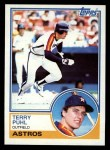 1983 Topps #39  Terry Puhl  Front Thumbnail