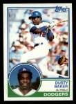 1983 Topps #220  Dusty Baker  Front Thumbnail