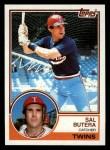 1983 Topps #67  Sal Butera  Front Thumbnail
