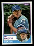 1983 Topps #219  Mike Armstrong  Front Thumbnail