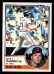 1983 Topps #660  Mike Hargrove  Front Thumbnail