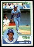 1983 Topps #582  Marshall Edwards  Front Thumbnail