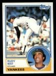 1983 Topps #408  Rudy May  Front Thumbnail