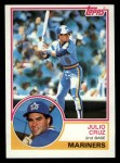 1983 Topps #414  Julio Cruz  Front Thumbnail