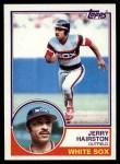 1983 Topps #487  Jerry Hairston  Front Thumbnail