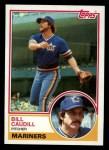 1983 Topps #78  Bill Caudill  Front Thumbnail