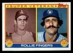 1983 Topps #36   -  Rollie Fingers Super Veteran Front Thumbnail