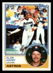 1983 Topps #774  Alan Ashby  Front Thumbnail