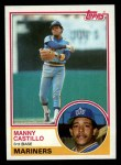 1983 Topps #258  Manny Castillo  Front Thumbnail
