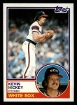 1983 Topps #278  Kevin Hickey  Front Thumbnail