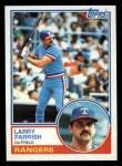 1983 Topps #776  Larry Parrish  Front Thumbnail