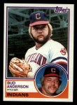 1983 Topps #367  Bud Anderson  Front Thumbnail