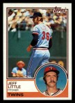 1983 Topps #499  Jeff Little  Front Thumbnail