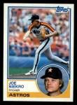 1983 Topps #221  Joe Niekro  Front Thumbnail
