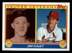 1983 Topps #673   -  Jim Kaat Super Veteran Front Thumbnail