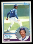 1983 Topps #204  Junior Kennedy  Front Thumbnail