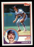 1983 Topps #790  Bobby Grich  Front Thumbnail