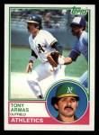 1983 Topps #435  Tony Armas  Front Thumbnail