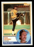 1983 Topps #537  Rod Scurry  Front Thumbnail