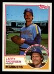 1983 Topps #234  Larry Andersen  Front Thumbnail