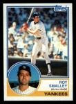 1983 Topps #460  Roy Smalley  Front Thumbnail