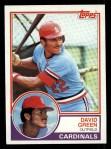 1983 Topps #578  David Green  Front Thumbnail