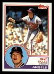 1983 Topps #468  Dave Goltz  Front Thumbnail