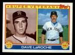1983 Topps #334   -  Dave LaRoche Super Veteran Front Thumbnail