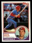 1983 Topps #734  Steve Braun  Front Thumbnail