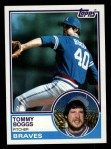 1983 Topps #649  Tommy Boggs  Front Thumbnail