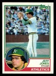 1983 Topps #259  Jeff Jones  Front Thumbnail