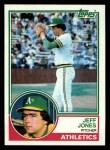 1983 Topps #259  Jeff Jones  Front Thumbnail