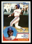 1983 Topps #641  Billy Sample  Front Thumbnail
