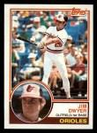 1983 Topps #718  Jim Dwyer  Front Thumbnail