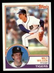 1983 Topps #457  Milt Wilcox  Front Thumbnail
