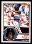 1983 Topps #41  Jerry Turner  Front Thumbnail