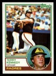 1983 Topps #274  Terry Kennedy  Front Thumbnail