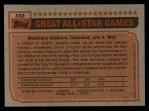 1983 Topps #388   -  George Brett All-Star Back Thumbnail