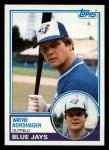 1983 Topps #714  Wayne Nordhagen  Front Thumbnail