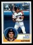 1983 Topps #198  Kiko Garcia  Front Thumbnail